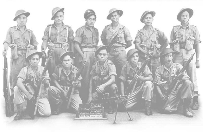 Molukse militairen dienst KNIL MBK