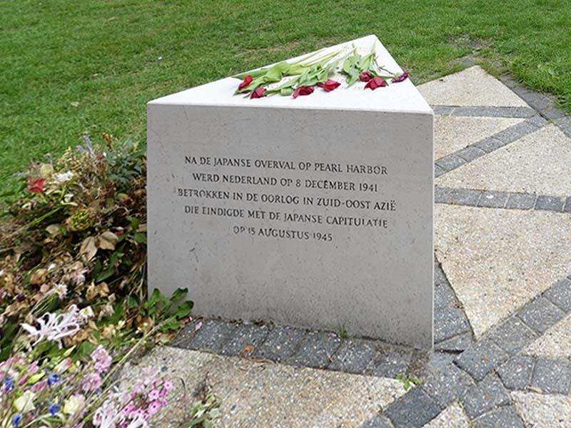 Herdenking Indisch Monument MBK